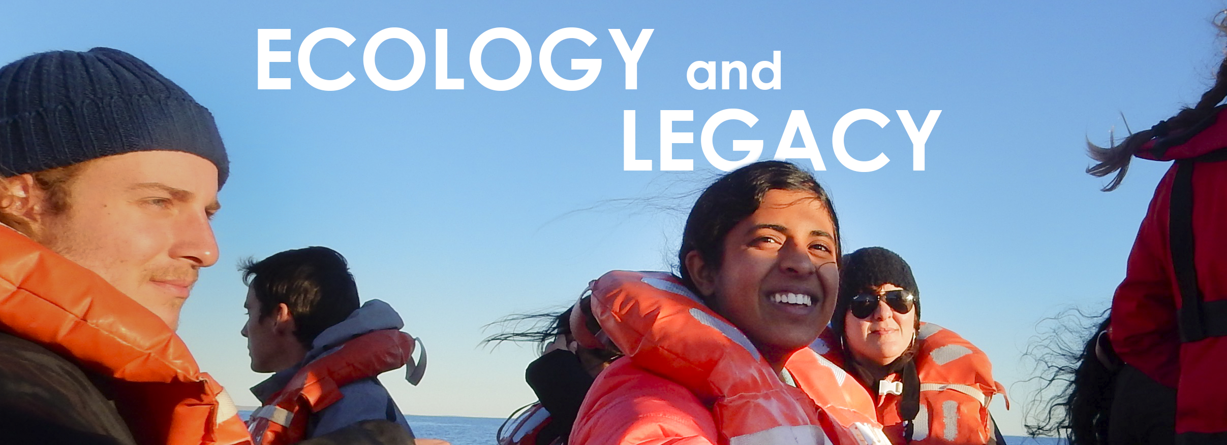 ecology and legacy banner