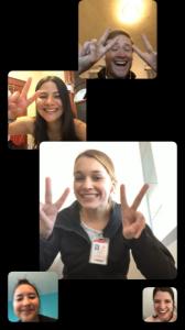 honors ambassador group skype photo